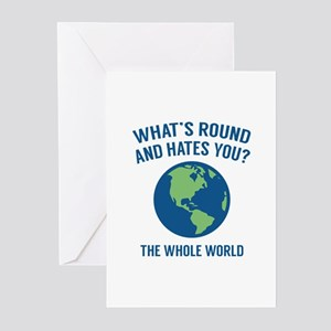 The Whole World Greeting Cards (Pk of 10)