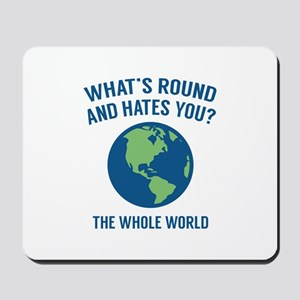 The Whole World Mousepad