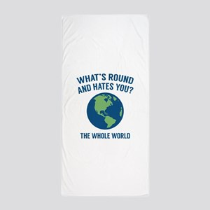 The Whole World Beach Towel