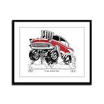 Classic Rodder Series #2, 1957 Framed Panel Print