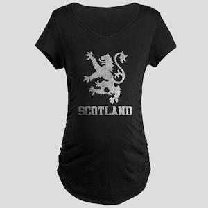 Vintage Scotland Maternity Dark T-Shirt
