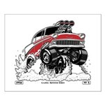 1956 Gasser Wheelie 1 Posters Small Poster