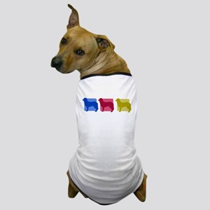 Color Row Stabyhoun Dog T-Shirt
