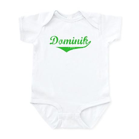 Dominik Vintage (Green) Infant Bodysuit