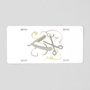 Barber Tools Aluminum License Plate