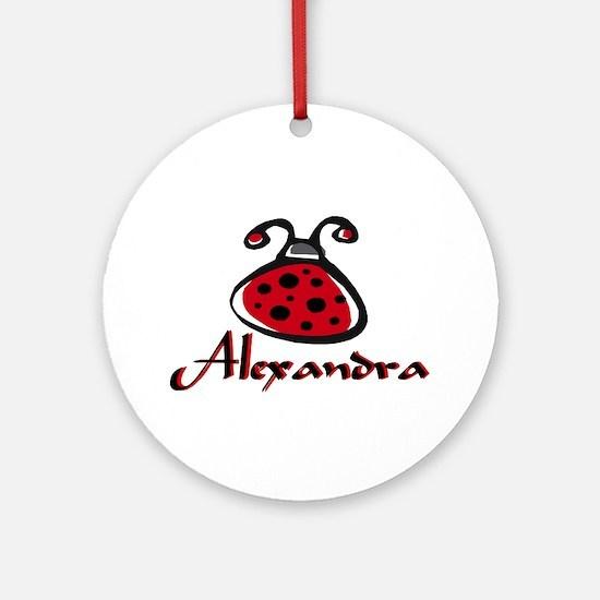 ALEXANDRA Ornament (Round)