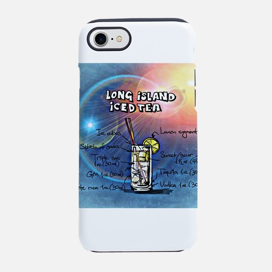 Long Island Iced Tea (Blue) iPhone 8/7 Tough Case