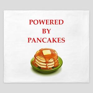 pancakes King Duvet
