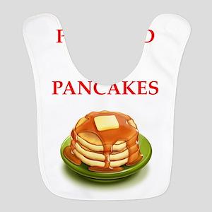 pancakes Polyester Baby Bib
