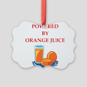 orange juice Ornament