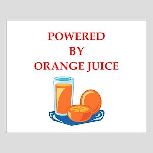 orange juice Posters