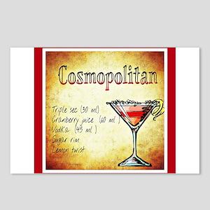 Red Cosmopolitan Postcards (Package of 8)