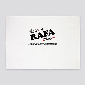RAFA thing, you wouldn't understand 5'x7'Area Rug