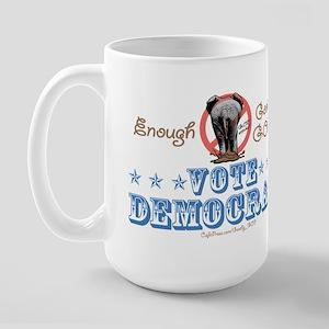 Goobly GOP Elephant Large Mug