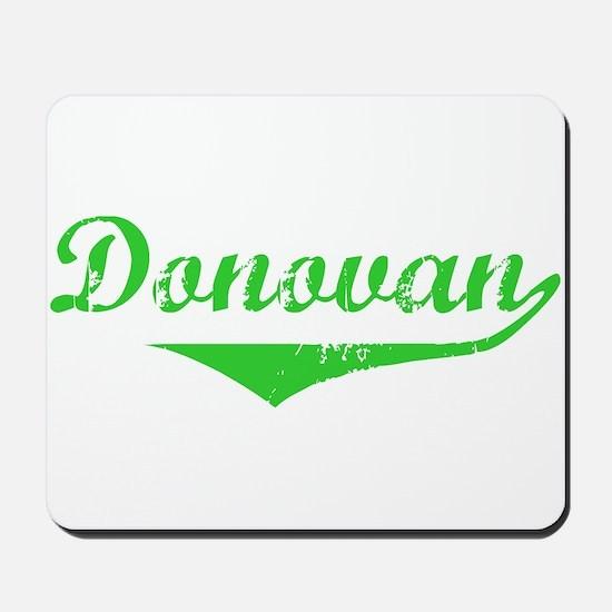 Donovan Vintage (Green) Mousepad