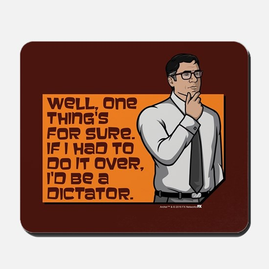 Archer Cyril Dictator Mousepad