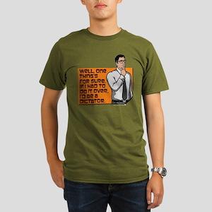 Archer Cyril Dictator Organic Men's T-Shirt (dark)
