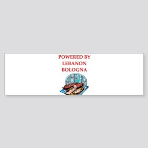lebanon bologna Bumper Sticker
