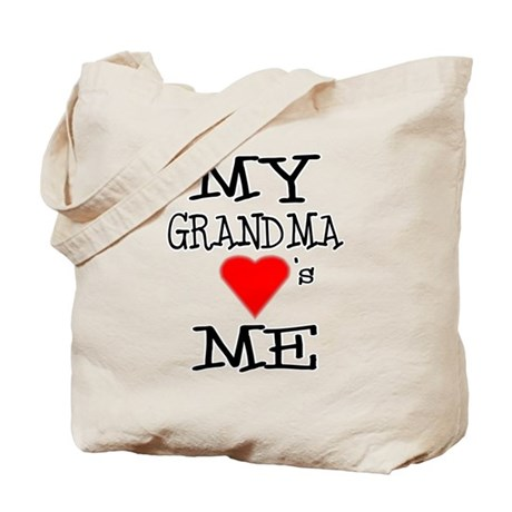 My Grandma Loves Me Tote Bag
