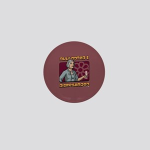 Archer Malory Duly Noted Mini Button