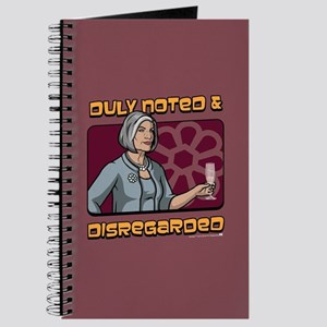 Archer Malory Duly Noted Journal