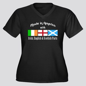 Irish, English Scottish Parts - for dark Plus Size