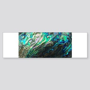 Iridescent Sea Shell Bumper Sticker