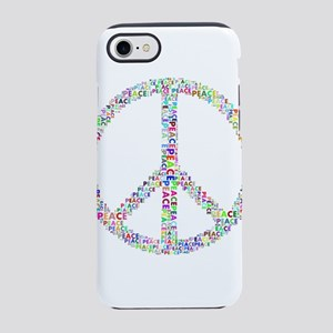Words of Peace in Sign iPhone 8/7 Tough Case
