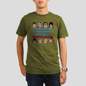 Archer Idiots Organic Men's T-Shirt (dark)