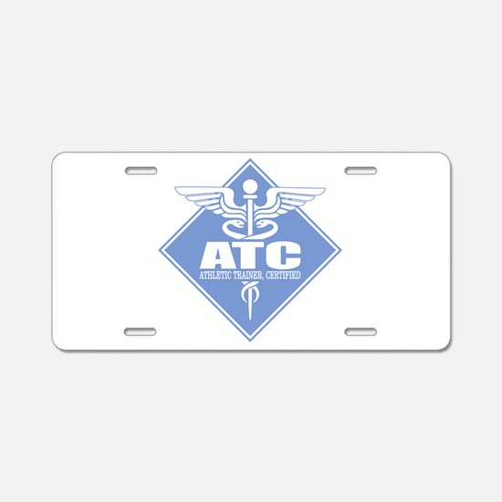 Athletic Trainer Certified Aluminum License Plate