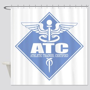 Athletic Trainer Certified Shower Curtain
