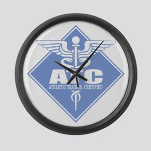 Athletic Trainer Certified Large Wall Clock