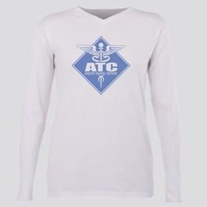 Athletic Trainer Certified Plus Size Long Sleeve T