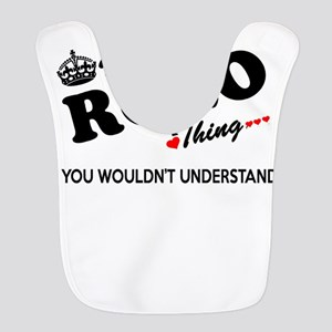 ROLO thing, you wouldn't unders Polyester Baby Bib