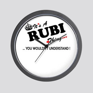 RUBI thing, you wouldn't understand Wall Clock