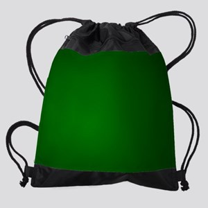 Hunter Green gradient Drawstring Bag