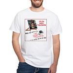 Off Beat Cinema White T-Shirt