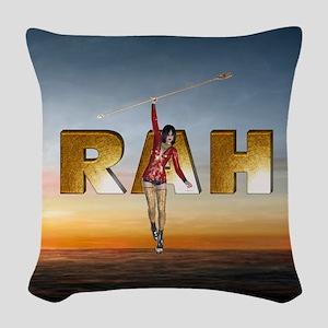 Rah Woven Throw Pillow