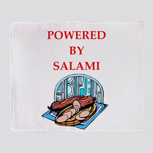 salami Throw Blanket