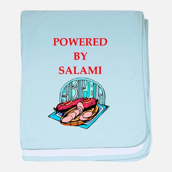 salami baby blanket