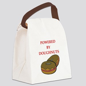 doughnuts Canvas Lunch Bag
