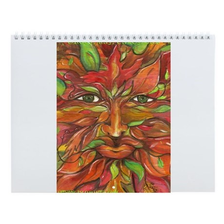 Seasons of the Greenman & Greenwoman Wall Calendar