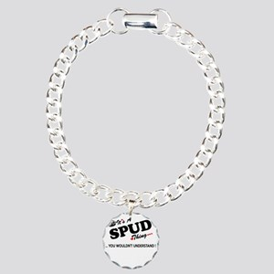 SPUD thing, you wouldn't Charm Bracelet, One Charm