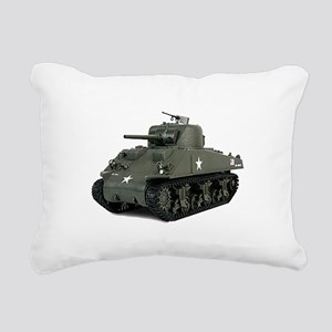 SHERMAN Rectangular Canvas Pillow