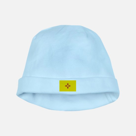 Flag of New Mexico baby hat