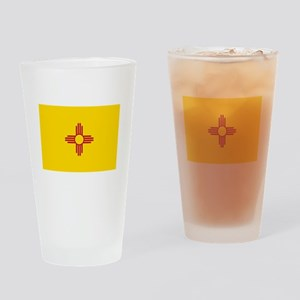 Flag of New Mexico Drinking Glass