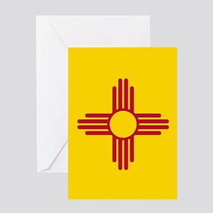 Flag of New Mexico Greeting Cards