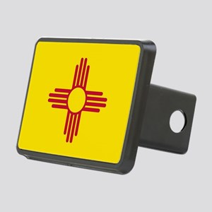 Flag of New Mexico Rectangular Hitch Cover