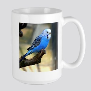 Blue Budgie Stainless Steel Travel Mugs