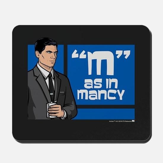 Archer Mancy Mousepad